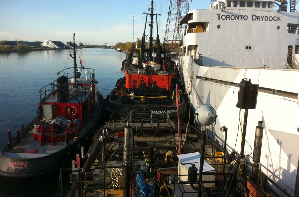 Tugs and Barges