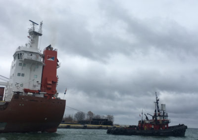 Tug Boat Ship Assist