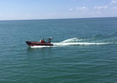 """Radium Yellowknife Boat 1 """"C-HAG"""""""